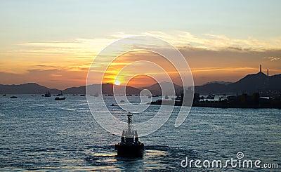 Ships Return Flight to Pier