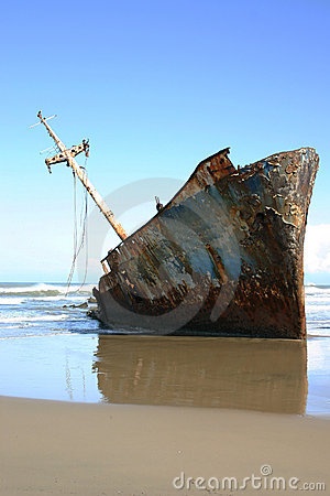 Free Shipwreck Royalty Free Stock Photos - 17923878