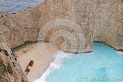 Shipwreck Beach, Zakynthos Island
