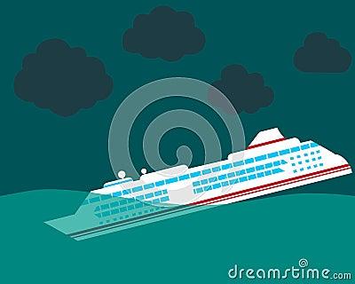 Shipwreck Stock Vector - Image: 60758364