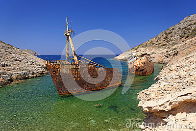 Shipwreck of the Olympia