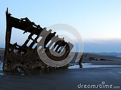 Shipwreck Silhouette 4