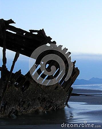 Shipwreck Silhouette 5