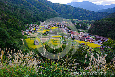 Shirakawa village late summer