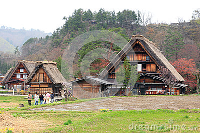 Shirakawago Editorial Stock Image
