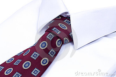 Shirt and neck tie