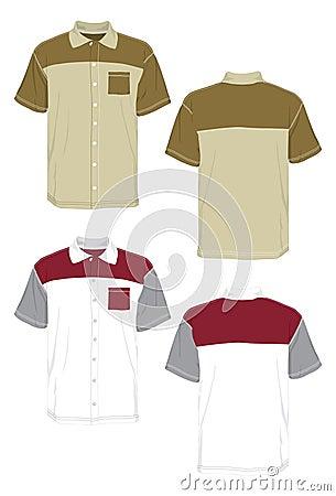 Shirt uniform color.