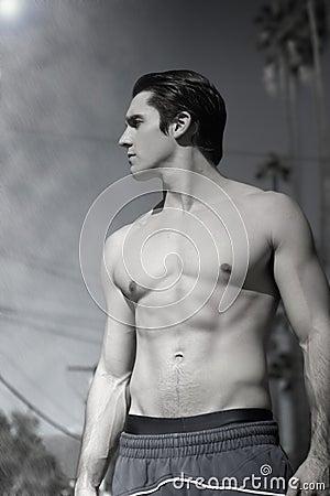 Shirtless guy
