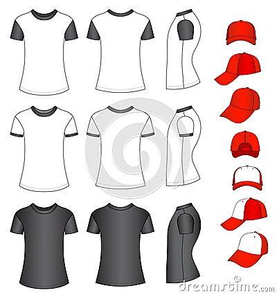 Shirts and baseball caps