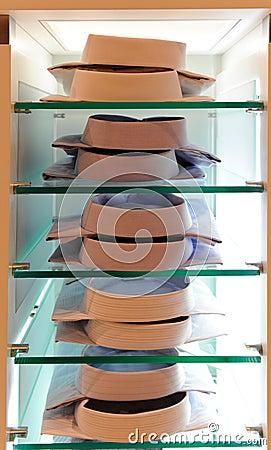 Shirts shelves