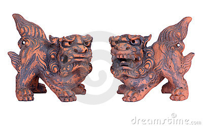 Shisa Guardians from Okinawa