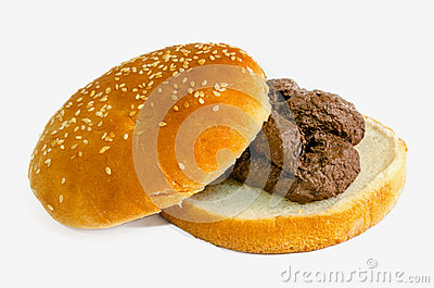 shit burger. Fast food is a garbage concept.