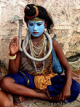 Shiva Impersonation