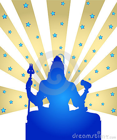 Shiva - The Indian God Royalty Free Stock Photos - Image: 4443398