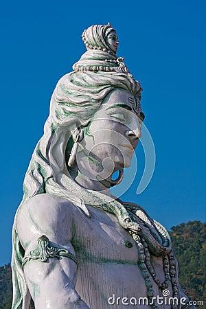 Shiva statue in India