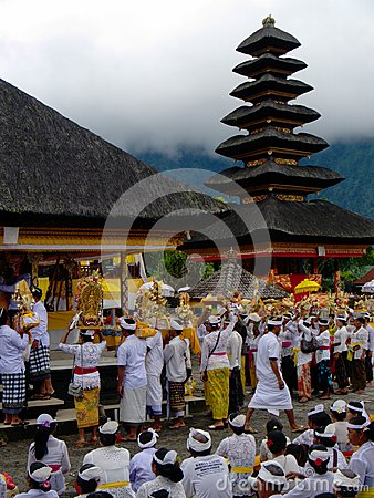 Free Shiva Temple - Lake Bratan, Bali, Indonesia `competition File` Royalty Free Stock Photography - 85140457