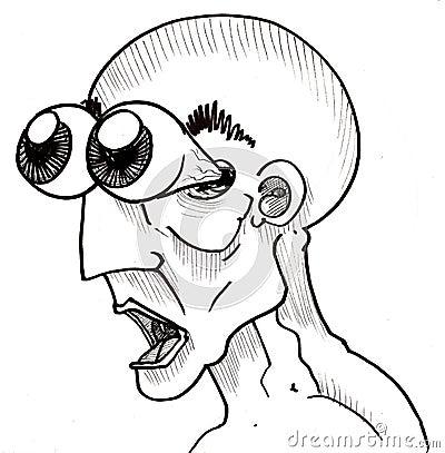 Shocked Stressed Man