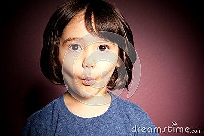 Shocked Toddler Boy