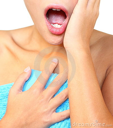 Free Shocked Woman Surprised Royalty Free Stock Image - 11483176