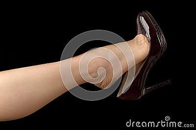 More similar stock images of ` Shoe Dangling