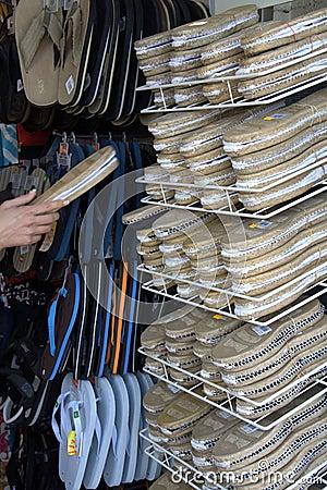 Shoe Store Rack