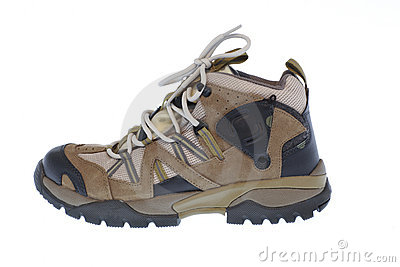 Shoe for trekking and hiking
