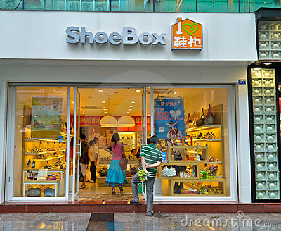 ShoeBox boutique Editorial Photo