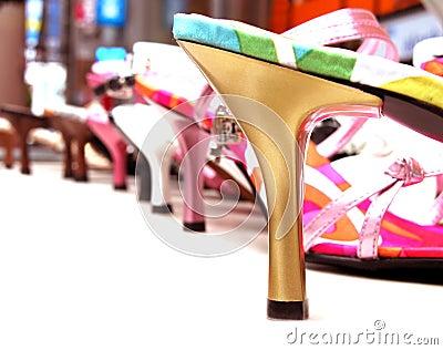 Shoes kvinnan