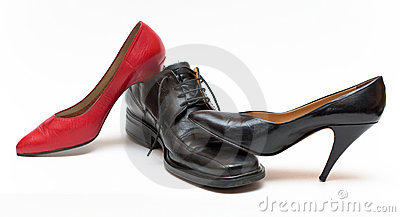 Shoes metaphor