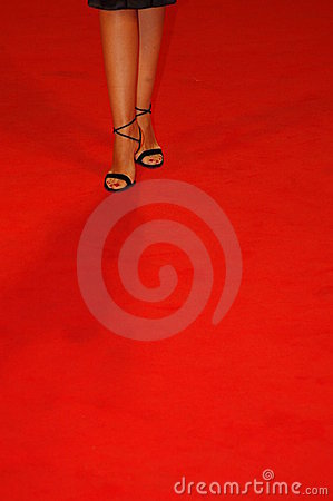 Free Shoes On Red Carpet Stock Photography - 4460732