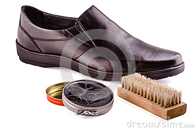 Shoes and shoe cream