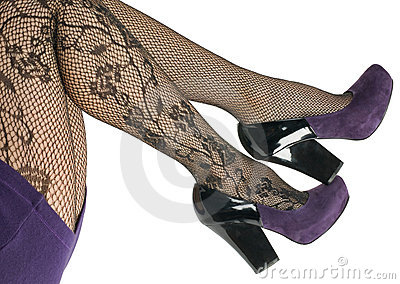 Shoes and stockings, pantyhose.