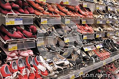 Supermarket Sarah/Jaguar Shoes - Store design and Event