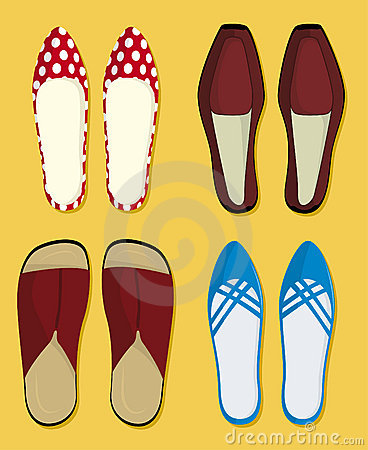Free Shoes (vector) Royalty Free Stock Images - 2880829