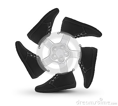 Shoes wheel