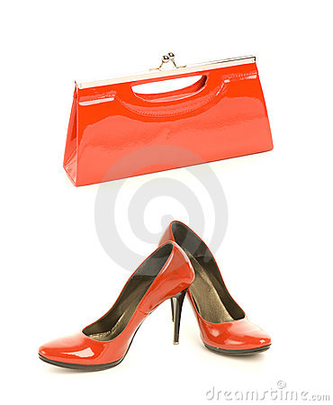 Free Shoes With Handbag Stock Images - 5814054