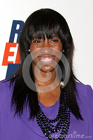Shondrella Avery arrives at the 19th Annual Race to Erase MS gala Editorial Photo