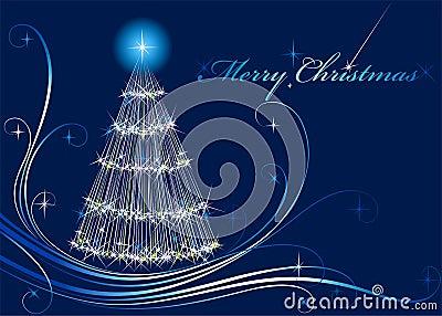 Shone Christmas fur-tree
