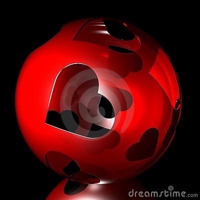 Shone enamoured sphere