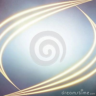 Shone fiery lines