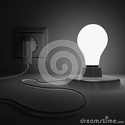 Shone lamp