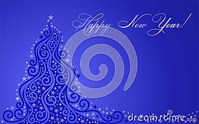 Shone New Year tree