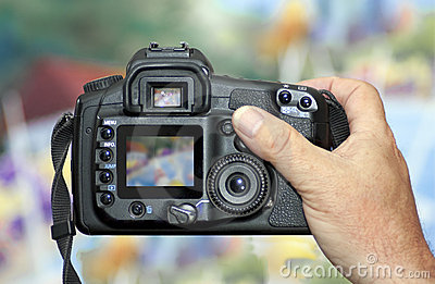 Shooting with DSLR Digital Camera