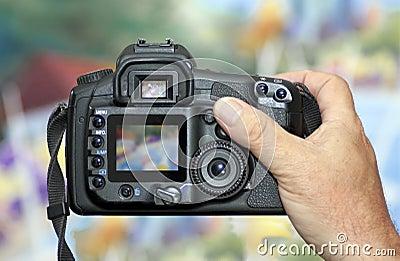 Shooting with DSLR Digital Camera
