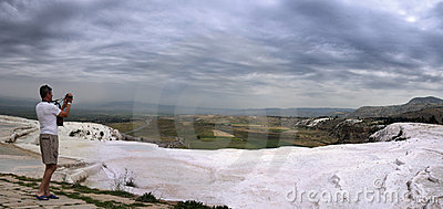 Shooting of Pamukkale; Turkey