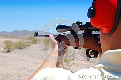 Shooting a Rifle