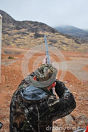 Shooting At SHOT Show Las Vegas Editorial Image