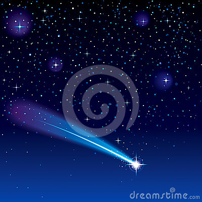 Free Shooting Star Royalty Free Stock Photos - 24387858