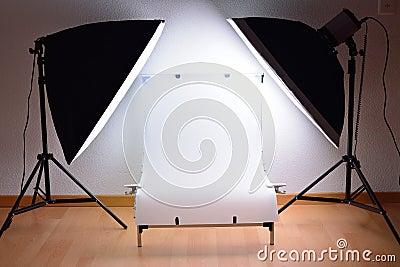 ShootingTable and studio lighting system