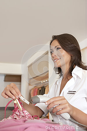 Shop Attendant at Counter